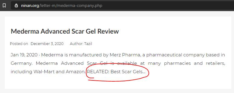 Content Scrapper Example