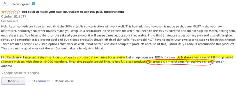 OZ Naturals Review