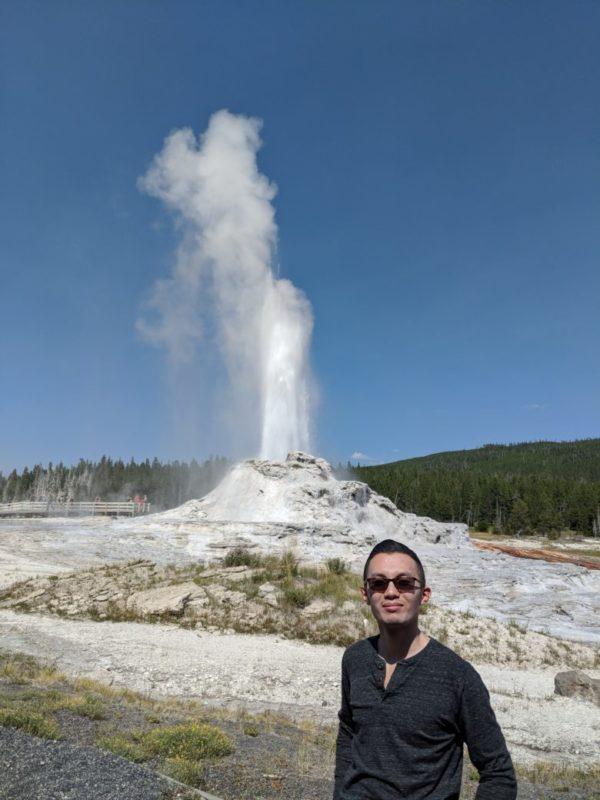 Yellowstone - Castle Geyser